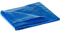 Тент тарпауліновий універсальний  3х5 м синій (55 г/кв.м.) (15)