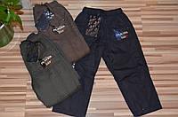 Балоневые брюки на флисовой подкладк  для мальчиков 98-128 см, фото 1