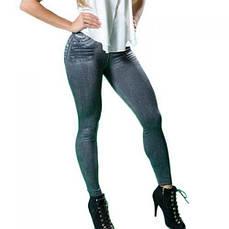 Утягивающие джеггинсы Slim N Lift Caresse лосины Джинсы Jeans Black S/M