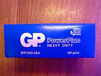 Батарейка GP Power Plus 15С AA R6S cолевая , фото 1