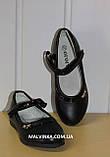 Туфли на девочку Yalike арт 5-19  черные р 27-32, фото 3