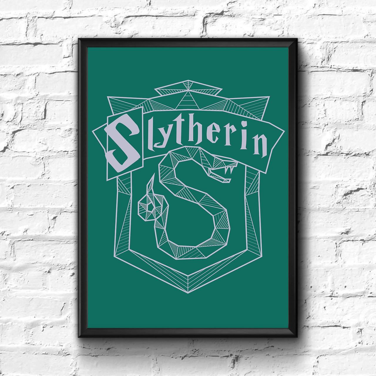 Постер с рамкой Слизерин, Slytherin, фото 1