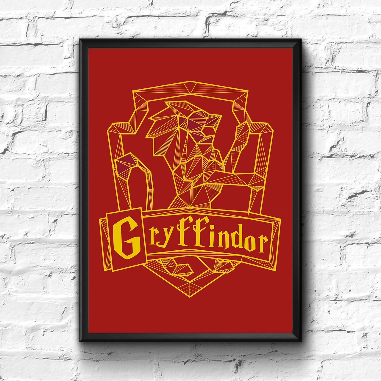 Постер с рамкой Гриффиндор, Gryffindor