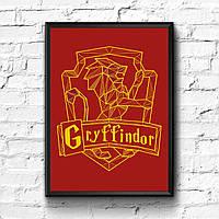 Постер с рамкой Гриффиндор, Gryffindor, фото 1