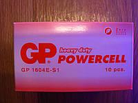 Батарейка GP 1604E-S1 Powercell GPR6 SI, 9V, крона, фото 1