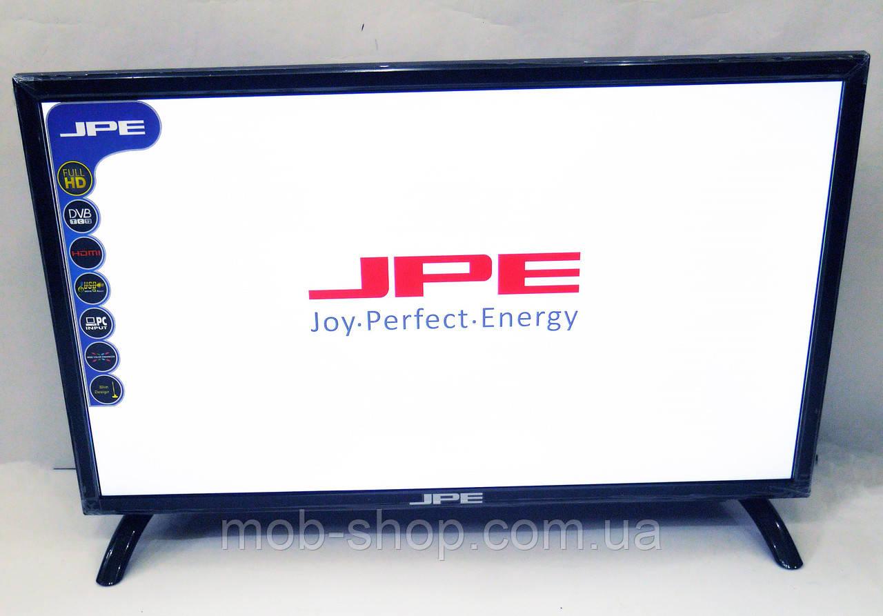 """LCD LED Телевизор JPE 22"""" Full HD T2 12v/220v HDMI+USB"""
