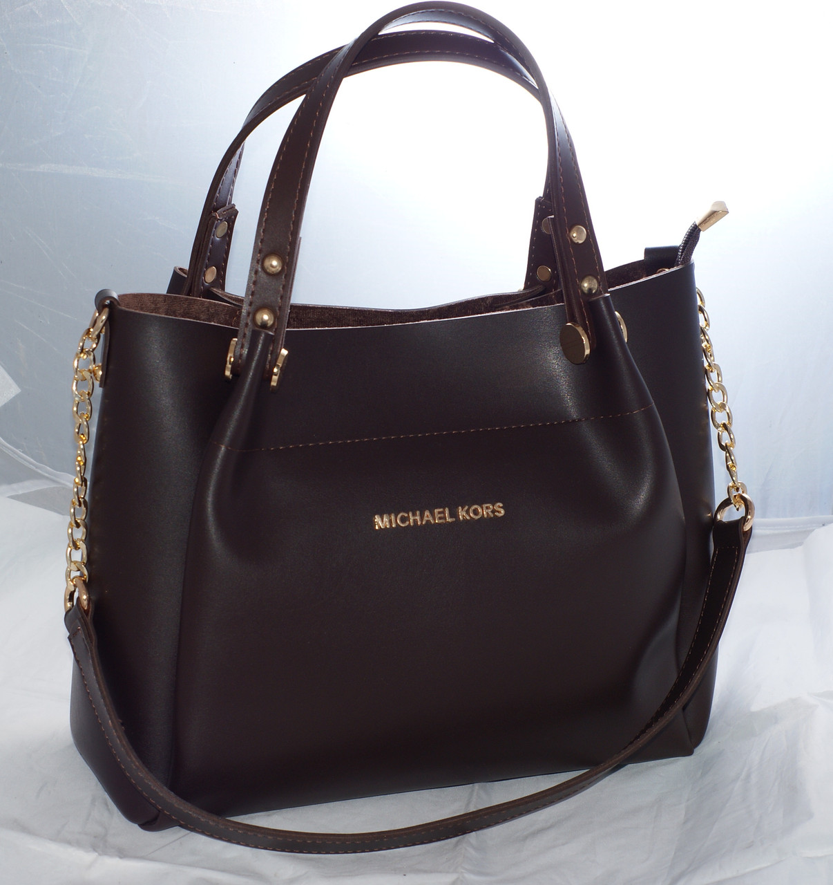 b827f9542b10 Женская сумка Michael Kors (Майкл Корс), коричневая  продажа, цена в ...