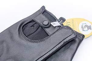 Женские кожаные сенсорные перчатки Средние, фото 2