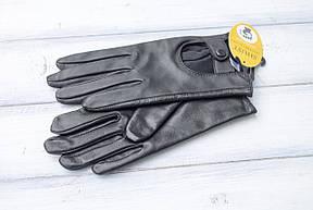 Женские кожаные сенсорные перчатки Средние, фото 3
