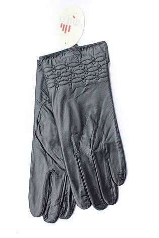 Женские перчатки из натуральной кожи СРЕДНИЕ, фото 2
