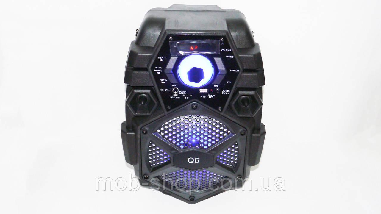 Портативная колонка Q6 Bluetooth