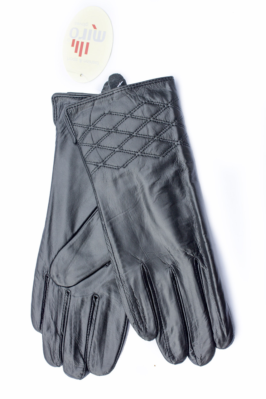 Женские кожаные перчатки оптом СРЕДНИЕ