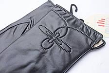 Перчатки кожаные женские  БОЛЬШИЕ, фото 2