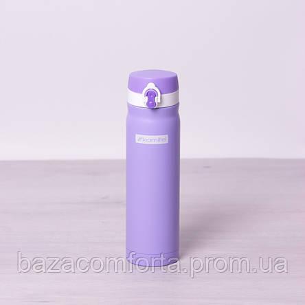 Термос-бутылка 2005В из нержавеющей стали Kamille 500мл, фото 2