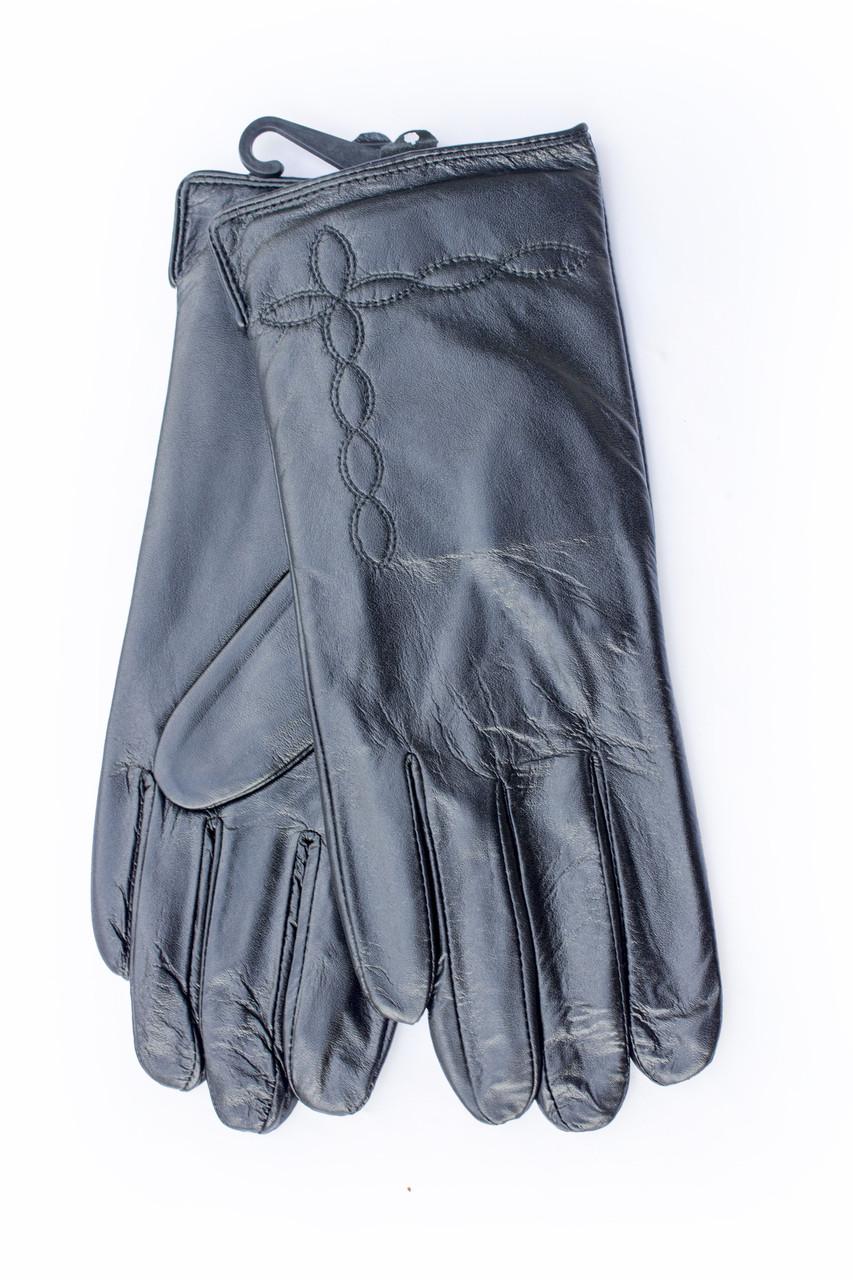 Перчатки кожаные женские СРЕДНИЕ