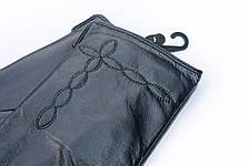 Перчатки кожаные женские СРЕДНИЕ, фото 2