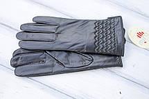 Женские кожаные перчатки Большие, фото 3