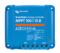 Контроллер заряда SmartSolar MPPT 100/15 (с Bluetooth)