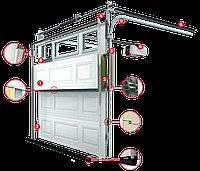 Ремонт секционных гаражных ворот