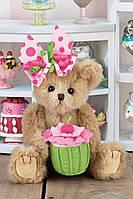 """Плюшевый медвежонок """"Кейси с пироженым"""" Bearington """"Casey Cupcake"""" Plush Bear"""