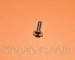 Гвинти М3 ISO (DIN) 7380-2 під шестигранник