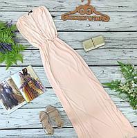 Утонченное платье макси с эротичным декольте и двумя высокими разрезами 10/38/S  DR1830092