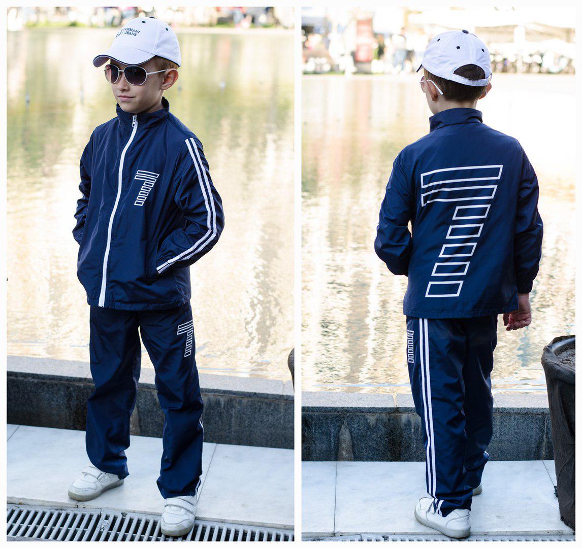Детский  костюм из водоотталкивающей плащевки с карманами / 4 цвета арт 6225-95