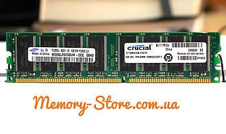 Оперативная память для ПК DDR 1Gb 400MHz PC3200 (б/у)