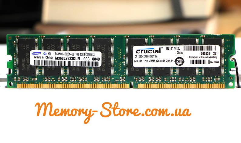 Оперативная память для ПК DDR 1Gb 400MHz PC3200 (б/у), фото 2