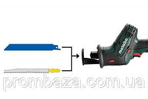 Аккумуляторная сабельная пила Metabo SSE 18 LTX Compact LiHD 2x4.0 Ач, фото 2