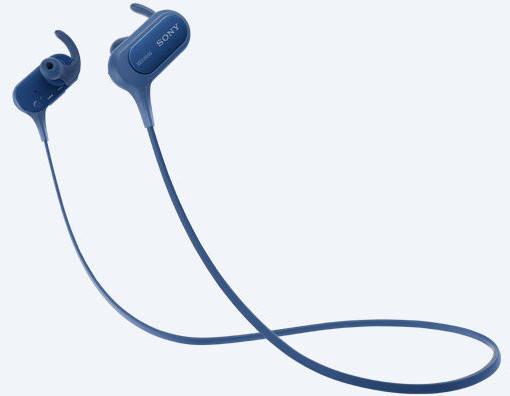 Наушники беспроводные Sony MDR-XB50BS Blue, фото 2