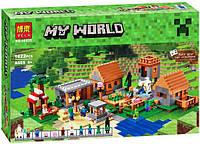 Конструктор Bela 10531 Майнкрафт Minecraft Деревня 1622 дет, фото 1