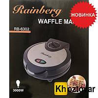 Венская вафельница Rainberg RB-6302 Waffle Maker