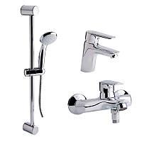 Набор смесителей для ванны QT Set CRM 35-211 21802 Q-TAP