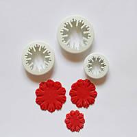 """Вырубки для цветов """"Гвоздика""""3 шт Галетте  -00253"""