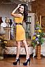 Женское трикотажные платье с декоративными плечами и поясом (0723-0724-0725 svt), фото 5