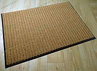 Ковер грязезащитный Рубчик-16 медовый 100х150см