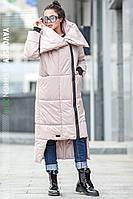 Зимнее женское пальто Клайд (беж), фото 1