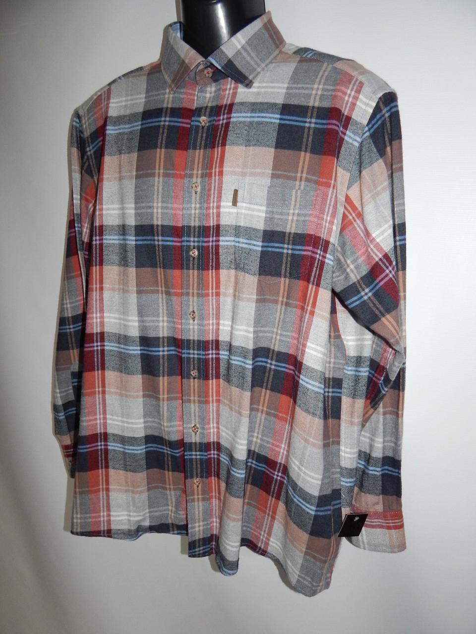 5ba9f54b6b2 Купить сейчас - Мужская теплая рубашка с длинным рукавом Casa Moda р ...