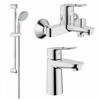 Набор смесителей для ванной GROHE BauLoop 123214S (23337000 + 32815000 + 27598000), фото 2