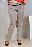 Бежевые брюки 006