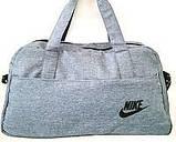 Дорожні сумки швейка Nike джинс (коричневий)22Х27Х48, фото 2