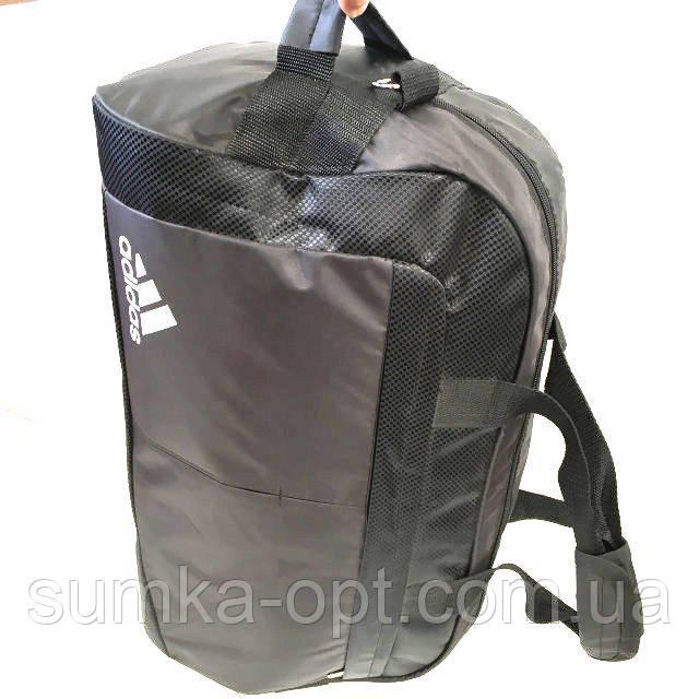Дорожные сумки швейка Adidas  М (черный)26Х33Х50