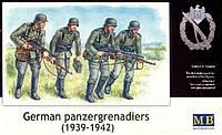 1:35 Немецкая мотопехота, 1939-1942 гг., Master Box 3513;[UA]:1:35 Немецкая мотопехота, 1939-1942 гг., Master