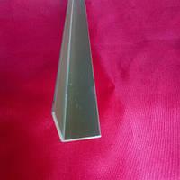 Уголок алюминиевый золото  20*20*1,5 мм, фото 1
