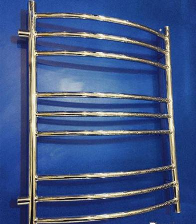 Полотенцесушитель бокового подключения в хроме 1-15
