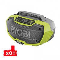 Стерео-радиоприёмник аккумуляторный RYOBI R18RH-0 ONE+, фото 1