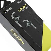 Гарнитур наушники с микрофоном yookie, фото 3