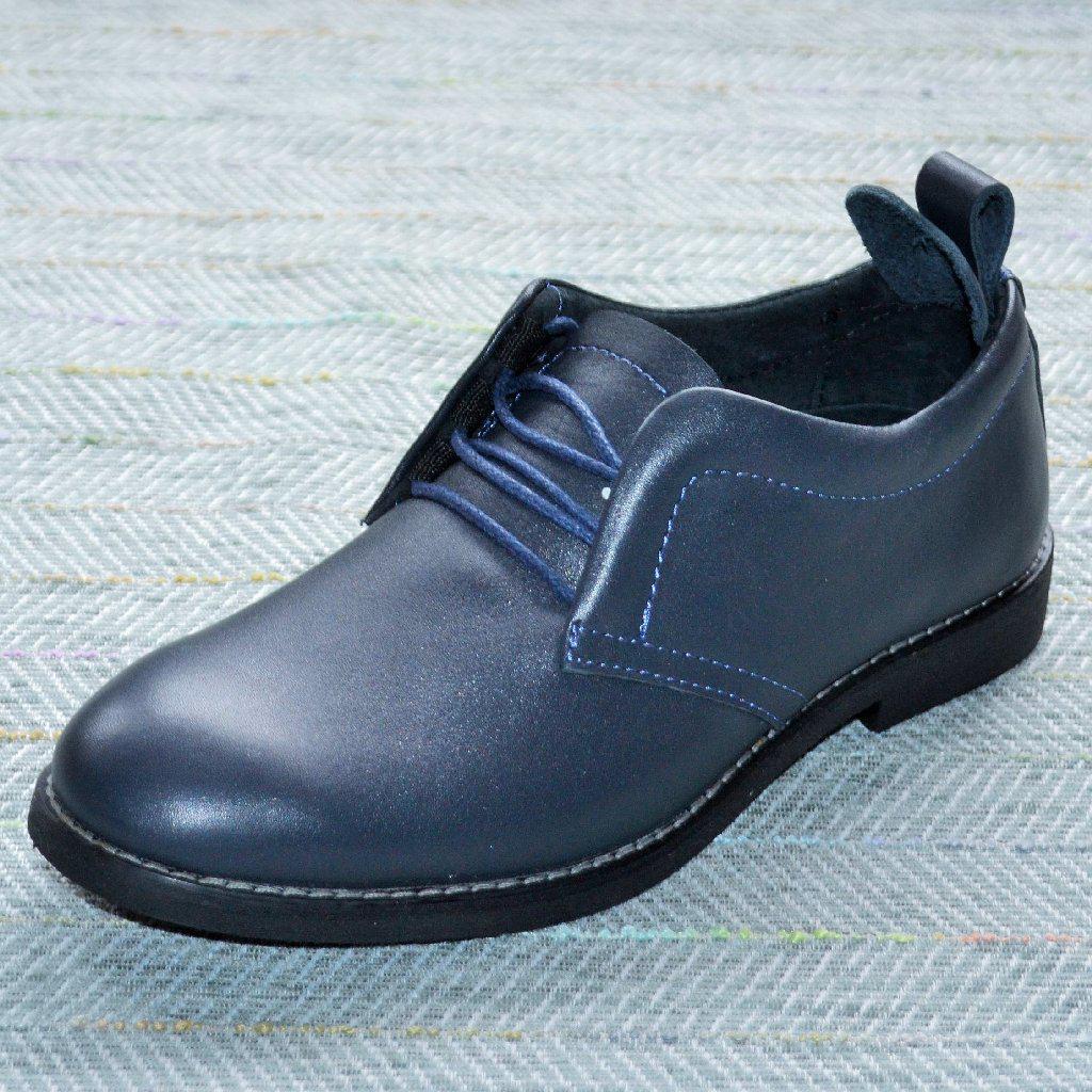 Туфлі шкільні для хлопчика підлітка, 2US розмір 37 38