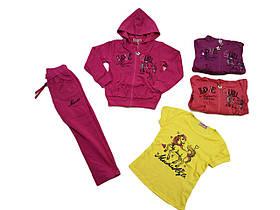 Трикотажный костюм для девочки оптом, размер  98 арт. CS-1664